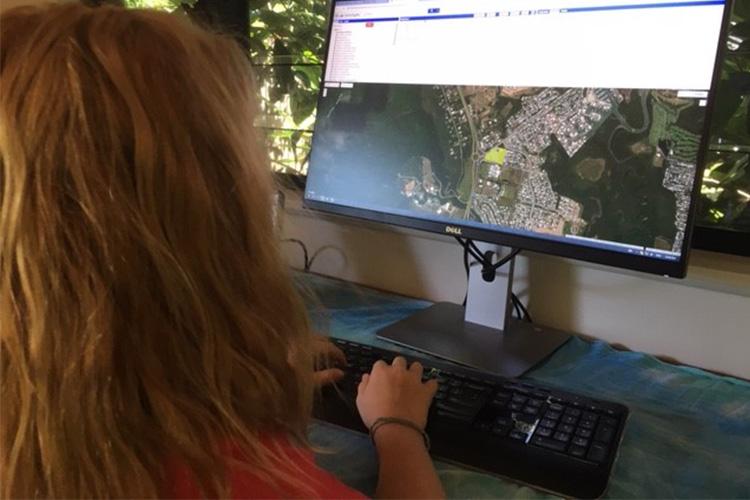 Karen Joyce teaching GIS