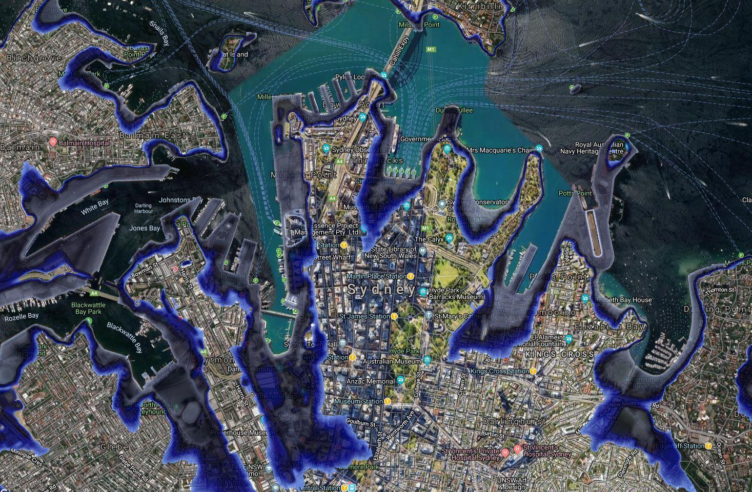 Sydney coastal risk